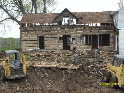 Timber Frames - Log Cabins | Old Wood New Use